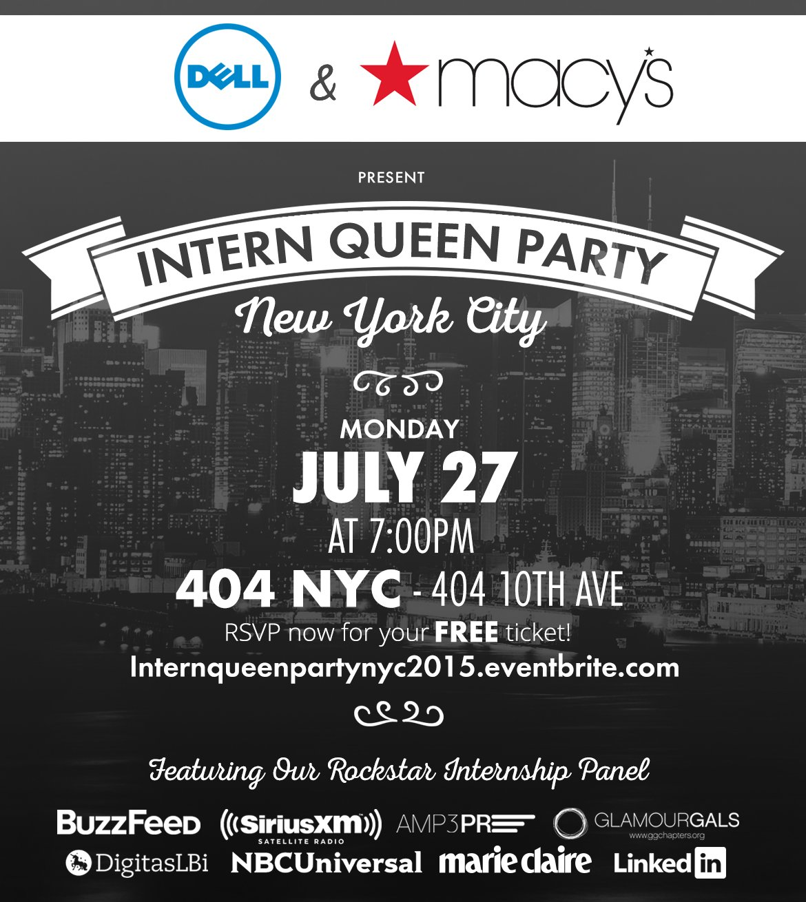 Intern Queen Party 2015