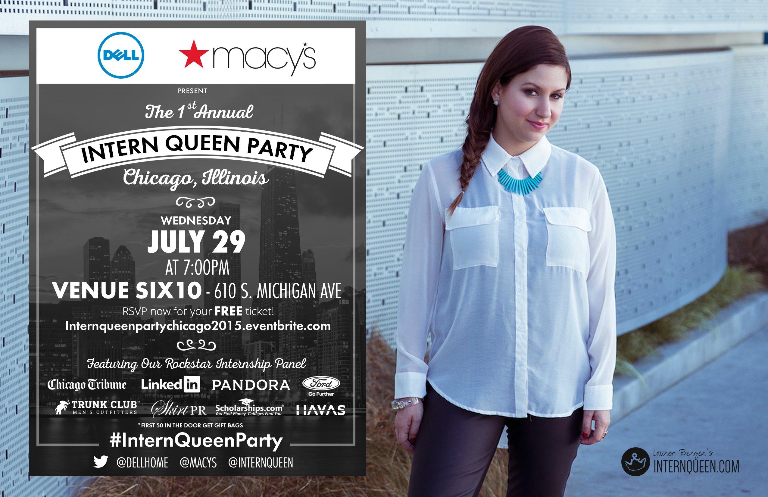 Intern Queen Party Chicago 2015